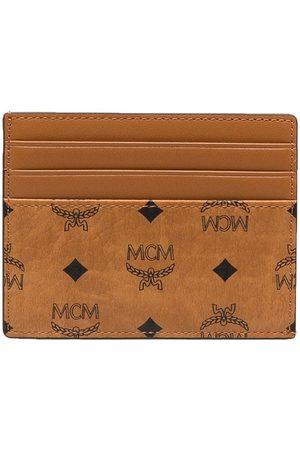 MCM Visetos logo cardholder