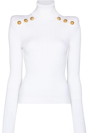 Balmain Ribbed turtleneck jumper