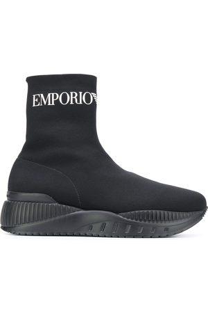 Emporio Armani Sock hi-top sneakers