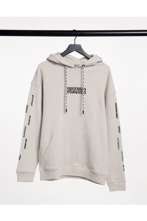 Crooked Tongues Hoodie with chest logo and sleeve print