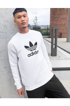 adidas Men Sweatshirts - Large trefoil sweatshirt in