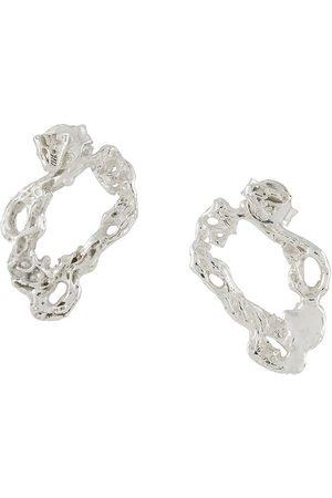 Lee Austro textured earrings
