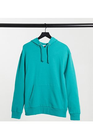 COLLUSION Unisex hoodie in teal