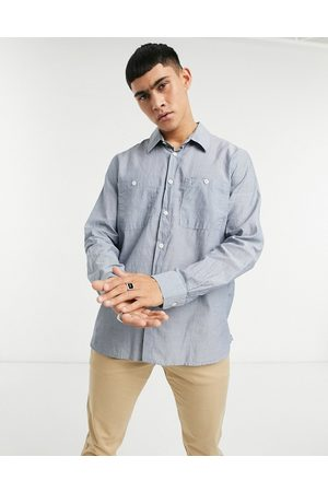 Albam Utility Factory small pinstripe overshirt in