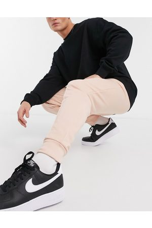 ASOS Tapered joggers with pin tuck in