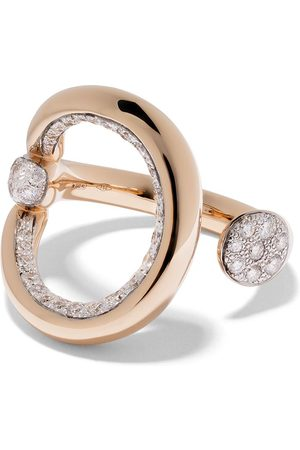 Pomellato 18kt rose Fantina diamond ring