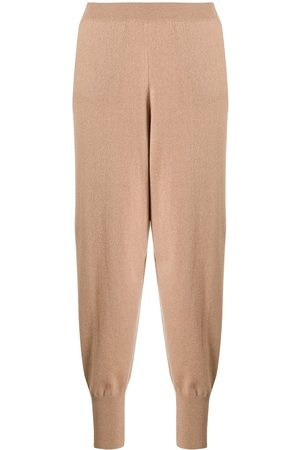 Stella McCartney Cropped wool tapered trousers