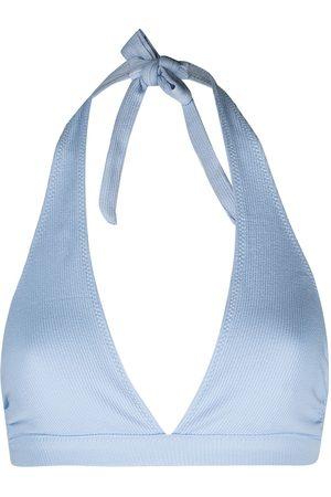Ganni Halterneck bikini top