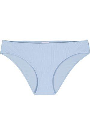 Ganni Ribbed bikini bottoms