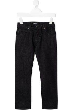 Emporio Armani J45 brushed cotton jeans