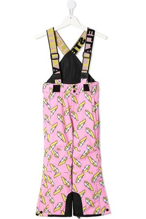 Stella McCartney 3D lightning ski trousers
