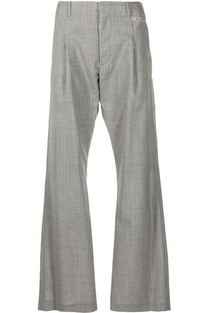 OFF-WHITE Checked tailored trousers