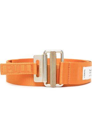 Heron Preston Logo-woven tape belt