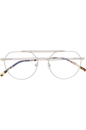 Lacoste Round-frame glasses