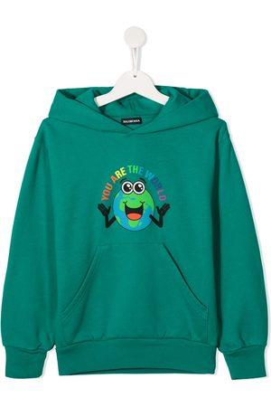 Balenciaga You Are The World hoodie