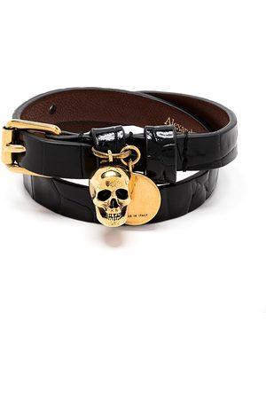 Alexander McQueen Skull-motif wraparound bracelet