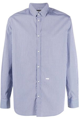 Dsquared2 Stripe-pattern buttoned shirt