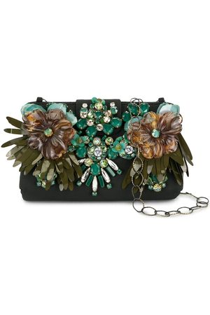 BIYAN Floral embellished clutch