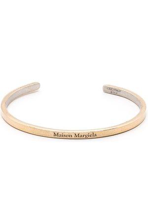Maison Margiela Logo-engraved cuff