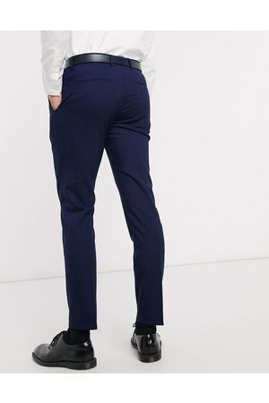 Calvin Klein Pittsburgh stretch wool suit trousers