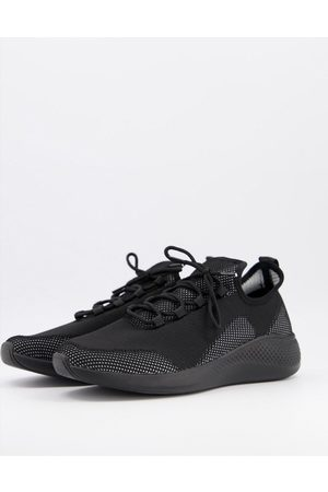 ASOS Knitted runner trainers in