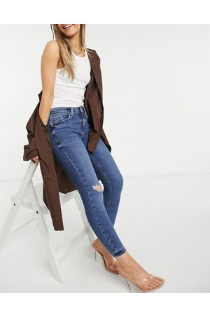 River Island Amelie skinny jeans in medium