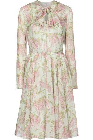 Giambattista Valli Floral silk chiffon minidress