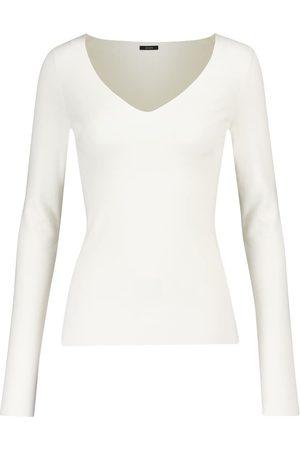 Joseph Women Jumpers - Stretch silk-blend top