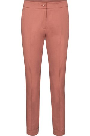 Etro High-rise slim stretch-cotton pants
