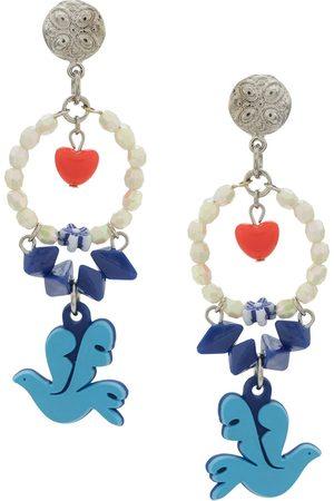 AMIR SLAMA Women Earrings - Dove of peace earrings