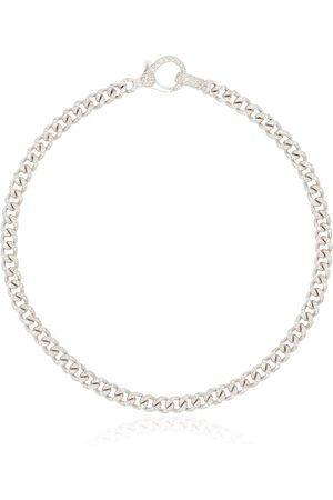 Shay 18kt white gold chain-link bracelet