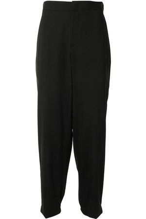Armani Relaxed straight leg trousers