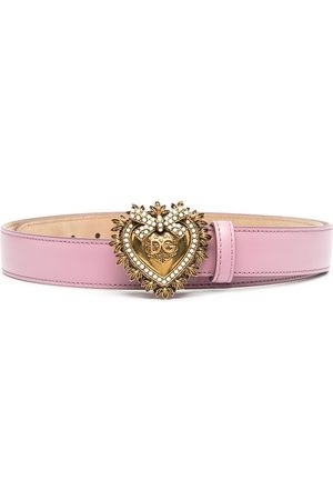 Dolce & Gabbana Devotion leather belt