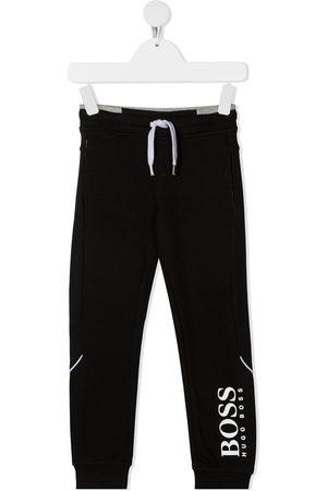 HUGO BOSS Boys Trousers - Logo-print track pants