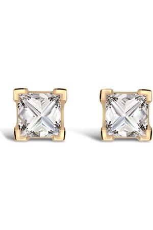 Pragnell Women Earrings - 18kt yellow RockChic diamond solitaire earrings
