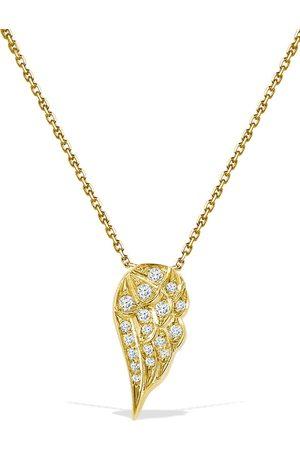 Pragnell 18kt yellow brilliant cut diamond Tiara pendant