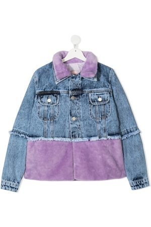 Natasha Zinko Two-tone denim jacket
