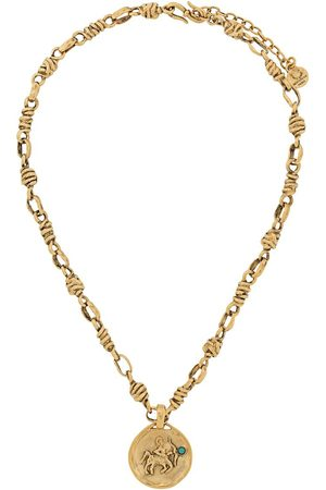 Goossens Talisman Sagittarius mini medal necklace