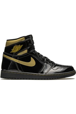 "Jordan Air 1 High "" Metallic Gold"" sneakers"
