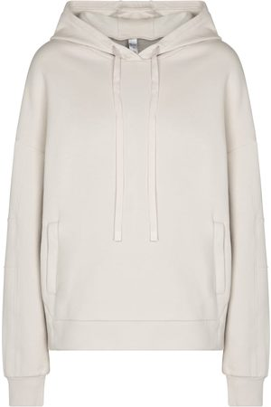 alo Women Sweatshirts - Interval cotton-blend hoodie
