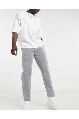 Obey Hardwork carpenter pant in pinstripe