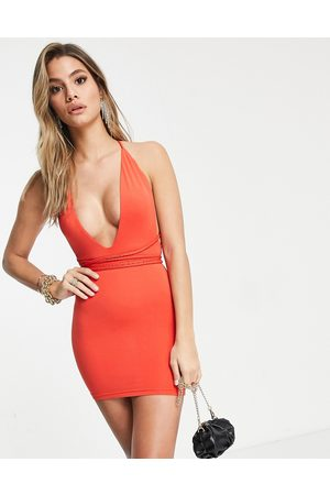 Mars the Label Women Bodycon Dresses - Going out multi way bodycon dress in orange