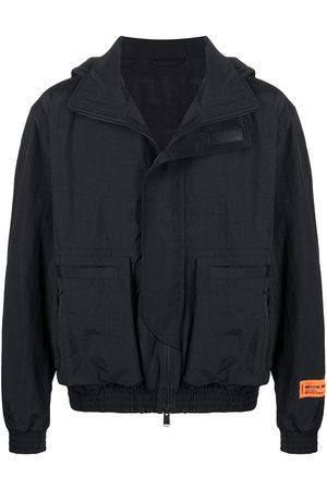 Heron Preston Men Hoodies - Logo-print zip-up jacket