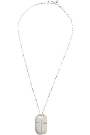 Tateossian Cut out cross necklace