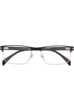 Eyewear by David Beckham Rectangle half-frame glasses