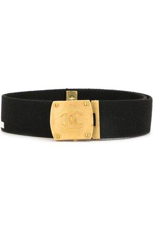 CHANEL 1994 CC buckle belt