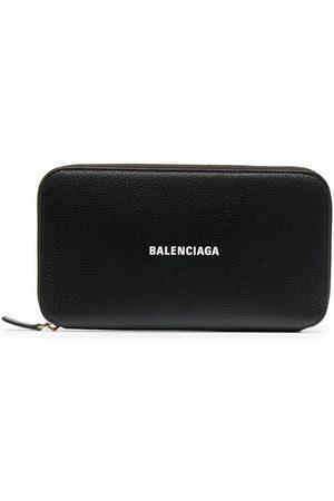 Balenciaga Rectangle logo-print wallet
