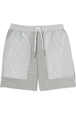 Burberry Monogram-quilted track shorts