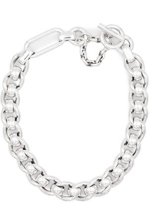 Bottega Veneta Sterling chain necklace