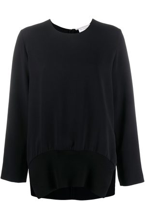 Stella McCartney Ribbed hem long-sleeve top